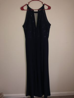 elegant navy blue gown for Sale in Gaithersburg, MD
