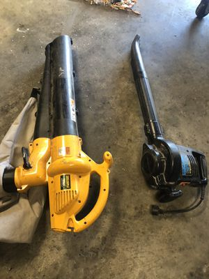 Electric leaf blowers for Sale in Escondido, CA