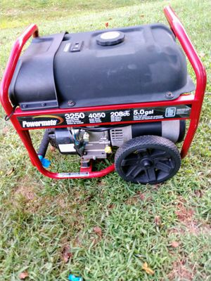Powermate gas generator for Sale in Reynoldsburg, OH