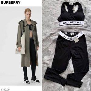 Burberry Gym Leggings Top Set for Sale in Las Vegas, NV
