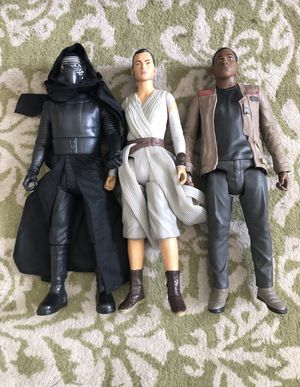 Star Wars action figures collectible set of 3 dolls for Sale in Pacifica, CA