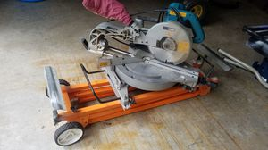Miter saw with stand for Sale in Concord, MA