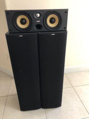 B&W 603-S2 Floorstanding & CC6-S2 center Speakers for Sale in Miami, FL