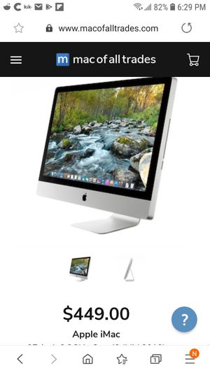 Apple iMac Monitor for Sale in New York, NY
