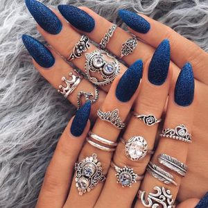 16 Piece Silver plated Ring Set 🤩ON SALE 🤩 for Sale in Dallas, TX