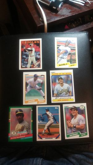 Baseball cards both leagues for Sale in San Pedro, CA
