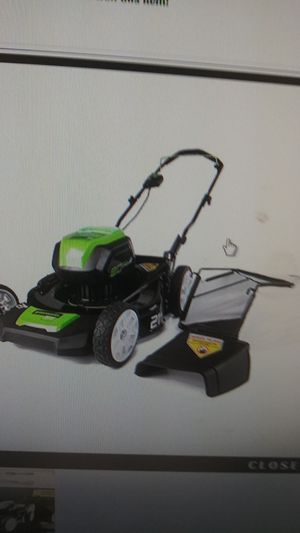Greenwood Pro 80v 21-in Cordless Lawn Mower w/Battery for Sale in Memphis, TN