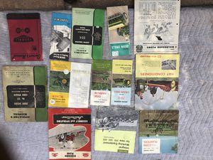 Vintage john deere pamphlets for Sale in FL, US