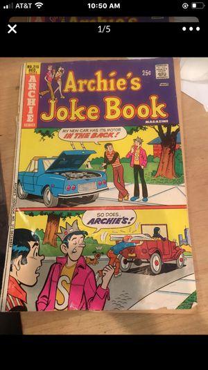 No. 215 Dec (1975) Archie's Joke Book Comic Read Post for Sale in Everett, WA