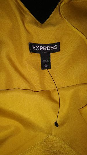Express Downtown Cami Yellow Shirt for Sale in Denver, CO