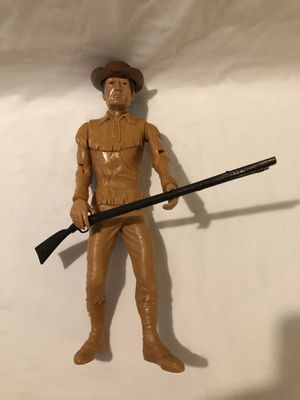 Mint condition vintage 1964 issue Daniel Boone Action figure with rifle and hat for Sale in Vacaville, CA