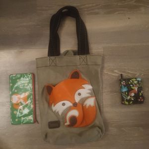 Fox Tote Bag And Fox Wallets Set for Sale in Gibbsboro, NJ