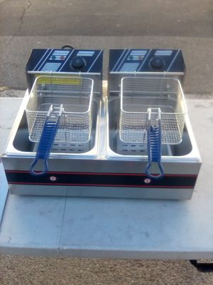 Brand new Premium Double Deep fryer for $90 for Sale in Fullerton, CA