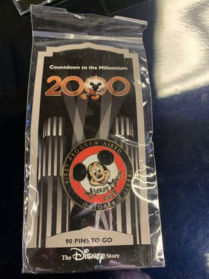 Disney Mickey Mouse Club 2000 Millennium Pin for Sale in Denver, CO