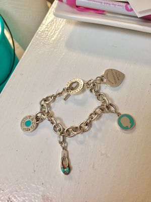 Selling Gorgeous Tiffany & Co Charm bracelet for AMAZING deal!!! for Sale in Tampa, FL