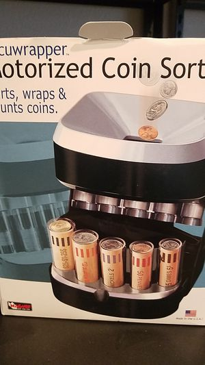Coin sorter for Sale in Olympia, WA
