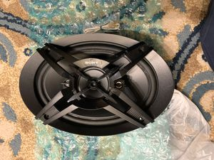 Sony XS-R6946 4way Speaker Car audio for Sale in Melrose, MA