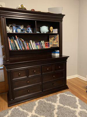Baby Cache 6 Double Drawer Dresser in Espresso for Sale in Dearborn, MI