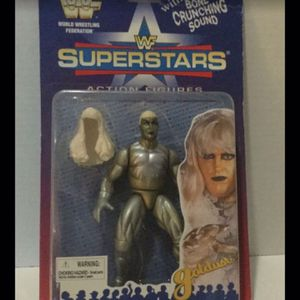Vintage 1996 WWF Goldust Poseable Action Figure In Unopened Original Packaging for Sale in Fort Lauderdale, FL