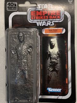 """Han Solo in Carbonite Vintage 6"""" Black Series Star Wars Empire Strikes Back 40th Anniversary Kennar Hasbro for Sale in Lewisville,  TX"""