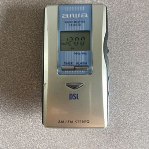 AIWA CR-LD120 AM/FM Stereo Radio Receiver w/ Timer and Alarm for Sale in Hoffman Estates, IL