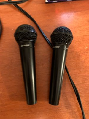 DRV wired mics $50 for pair for Sale in Seattle, WA