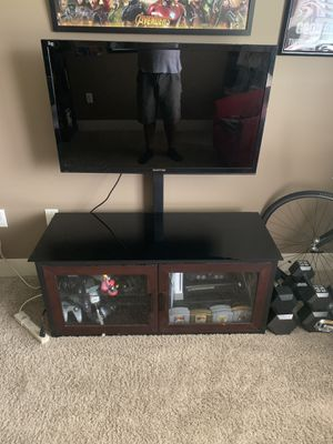 """42"""" Sceptre LED 3-D with cabinet and mount for Sale in Grand Island, NE"""