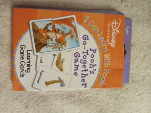 Pooh's Go Together Card Game for Sale in Fresno, CA