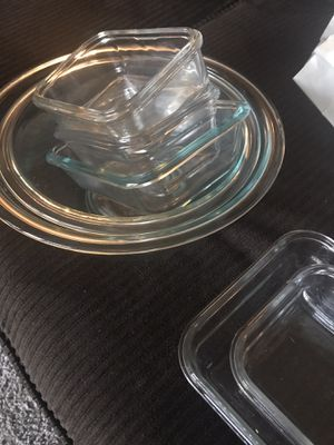 Pyrex and glass lock cookware for Sale in Spokane Valley, WA