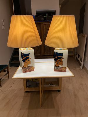 Handpainted Ceramic Lamps for Sale in Brooklyn, NY