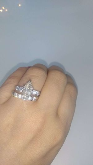3 carat diamond engagement ring set for Sale in Atlanta, GA