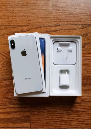 iPhone X (Unlocked all carriers) for Sale in Boyds, MD