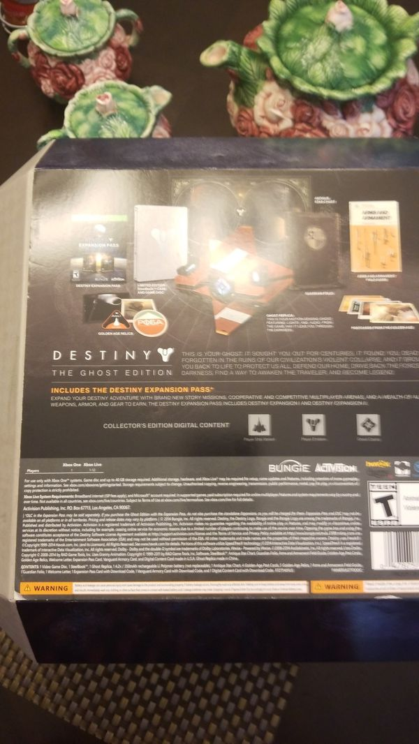 DESTINY Ghost edition without game