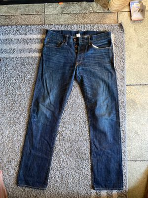 Japanese Selvedge Denim Size 34x34 for Sale in Los Angeles, CA
