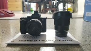 Sony A7RII plus 50mm f 1.8 and sony 16-35mm f4 for Sale in Tarpon Springs, FL