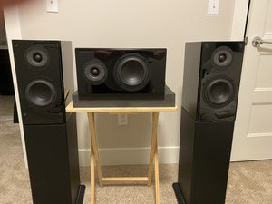 Ascend Acoustics Sierra-1s with CBM-170 Surrounds. If you are looking for the ABSOLUTE BEST sounding speakers for the price, look no further. for Sale in Milton, WA