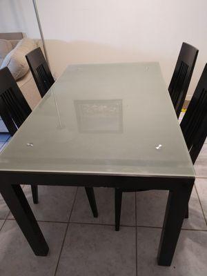 Glass Kitchen Table for Sale in Boca Raton, FL
