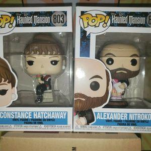 Funko Pop! Disneys The Haunted Mansion Constance Hatchaway & Alexander Nitrokoff for Sale in Sacramento, CA