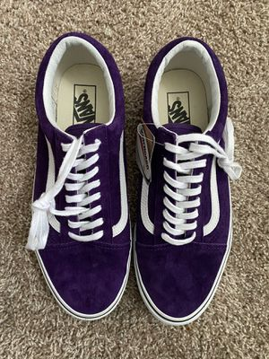 Vans old Skool Açaí/Snake size 10 NEW for Sale in Plano, TX