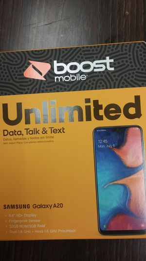 Boostmobile Samsung Galaxy A20 for Sale in Washington, DC