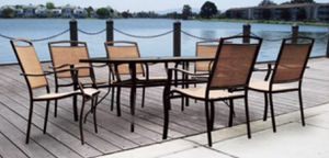 New!! SET OF SIX CHAIRS, 6 outdoor chairs, 6 dinning chairs, chairs only for Sale in Phoenix, AZ