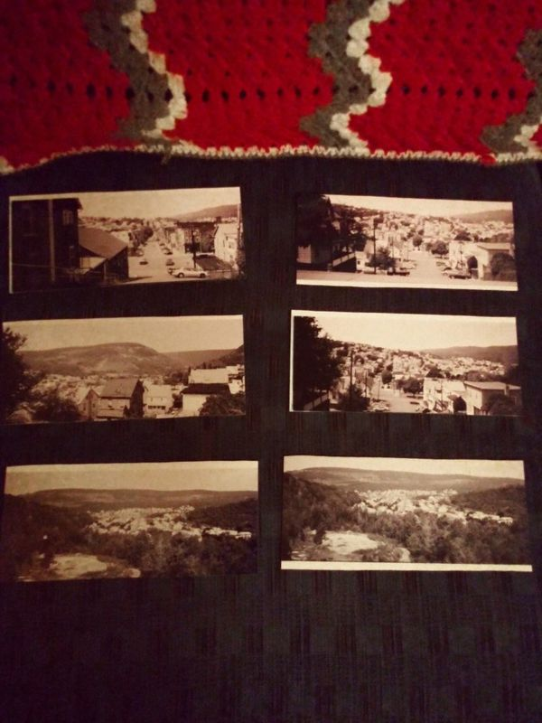 Black & White pictures of Shamokin PA.
