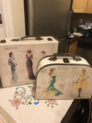 Decorative Suitcases MUST SELL for Sale in Queens, NY