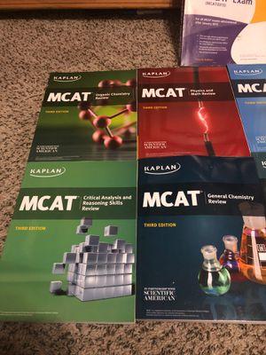 Kaplan MCAT Prep Books and Examkrackers for Sale in Tamarac, FL