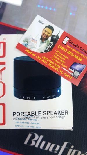 CRAIG CMA3568BK Portable Speaker with Bluetooth, Black for Sale in Hialeah, FL