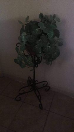 Fake plant and stand for Sale in Lake Wales,  FL