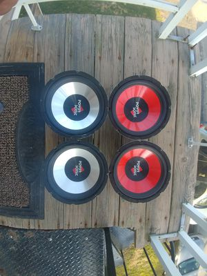 """4 Power Sonic PS-W1060CF 10"""" Subwoofers for Sale in NO HUNTINGDON, PA"""