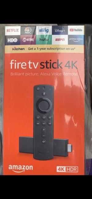 Amazon fire tv stick 4K for Sale in Round Rock, TX
