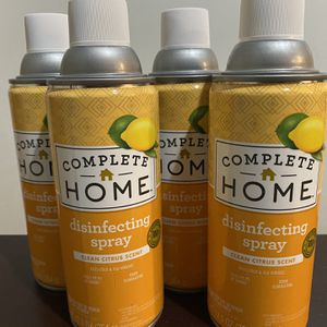 4 X COMPLETE HOME DISINFECTANT 🍊 for Sale in San Francisco, CA