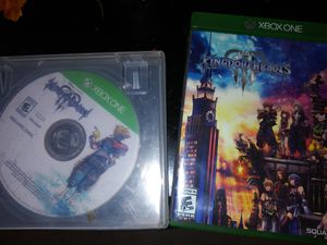 Kingdom Hearts 3 xbox one for Sale in Lorain, OH